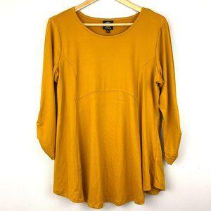 BOBEAU Gold Mustard Yellow 3/4 Top